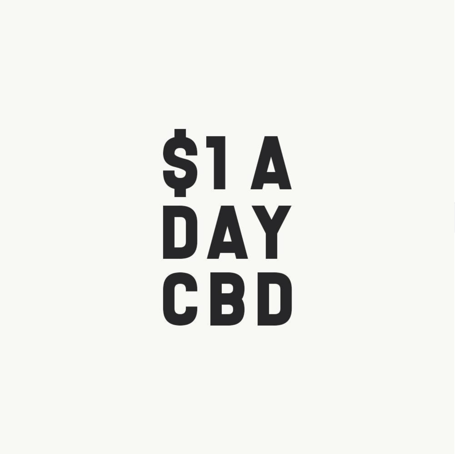 Dollar A Day CBD coupons